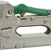 Пистолет Stayer скобозабивной металлический пластинчатый, регулируемый, тип 140+300 — 6-18мм, Код:31515 фото
