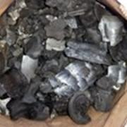 Уголь древесный берёзовый фото
