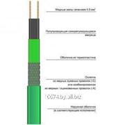 Нагревательный кабель саморегулирующийся НТМдля труб фото