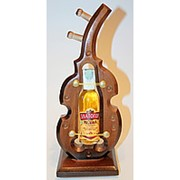 Скрипка сувенирная подставка под бутылку фото