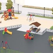 3d Дизайн детских игровых площадок фото