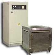 Индукционная плавильно-раздаточная печь ИЦРТ фото