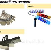 Инструмент малярный, кисти, валики, шпатели фото