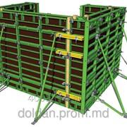 Рамная опалубка для монолитного строительства ЛАЙТ 60 kn - Cofraje pentru lucrari de betonare LIGHT 60 kn фото
