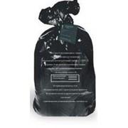 Пакет для утилизации медицинских отходов 500*600мм, 30л Класс Г, 22мкм (100шт/рул) фото