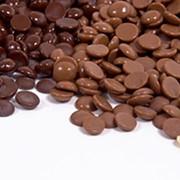 Шоколад горький 70,4% галлеты 2,5кг фото