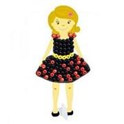 PAULINDA Мозаика 3D Создай свое платье, более 95 деталей, без использования утюга 16,5х3,7х26,7см (150105-1) фото