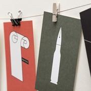 Набір листівок «Десять» фото