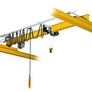 Кран мостовой однобалочный опорный однопролётный г/п 5 т пролет 13,5 м фото