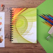 Бизнес-тетрадь A4,150л,клетка,гребень Attache Selection Office book 2 белый фото