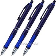 Ручка шариковая автоматическая, erichkrause megapolis concept, синие чернила EK31 фото
