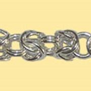 Цепочки серебряные фото