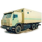 Спецавтомобиль АСПЦ-6710 (шасси КАМАЗ-53215 6х4) фото