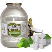 Сок березовый с сахаром фото