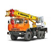 Автокран КС-35714К-2 (КАМАЗ-43118, 6х6) — 16 тонн. фото