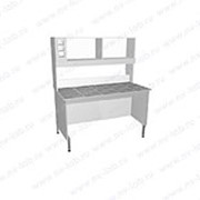 Стол пристенный физический НВ-800 ПК-М (760*700*1650) фото