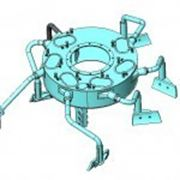 Запасные части для промышленных бетоносмесителей БП-1500, СБ-138, СБ-146, С-1500, Simem, Sicoma и т.д. фото