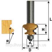 Фреза кромочная фигурная ф25.4х16, r3.2, хв.8мм (арт.10692) фото