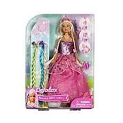 DEFA Lucy DEFA Lucy Кукла Яркая модница (в комплекте цветные пряди, заколки и расческа) (8182) фото