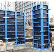 Стальная рамная опалубка GPrandina для стен, колонн, фундаментов, шахты лифта