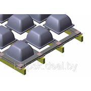Пластиковая опалубка перекрытий для больших проемов SKYDOME
