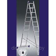 Лестницы-стремянки двухсекционные фото