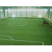 Строительство искуственных футбольных полей фото