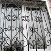 Решетки оконные металлические фото