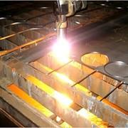 Раскрой листового метала на плазменной установке (толщина материала до 16 мм.) -гильотина (0,5-12 мм.) фото