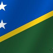 Флаг национальный Соломоновы острова фото