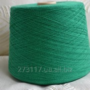 Пряжа Хлопок 50%, лен 50%, зеленый, Zegna фото