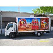 Рекламное оформление автотранспорта (любые марки любые формы кузовов любая поверхность!) фото