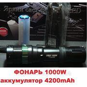 Police мощный Фонарь 1000W T8455 купить в Украине фото