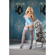 Атласный корсет Satin Waist Cincher (BW1264BLUE/S) фото