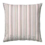 Чехол на подушку, розовый, разноцветный ЭЛЬВИЛЬДА фото