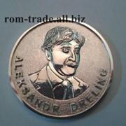Медаль из серебра на заказ фото