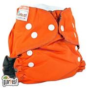Многоразовый подгузник GlorYes! OPTIMA NEW Апельсин 3-18 кг + два вкладыша фото