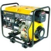 Дизельный сварочный генератор FORTE FGD6500EW фото