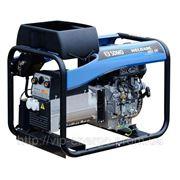 Бензиновый трехфазный сварочный генератор 380/220 В фото