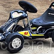 """Одноместный электромобиль Go Kart, с резиновыми колёсами и """"ЖК"""" монитором фото"""