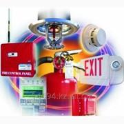Пожаротушение и пожарная сигнализация фото