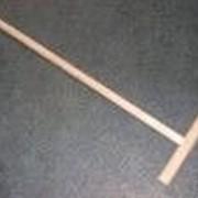 Швабра для пола деревянная 350мм. (круглая планка) фото