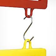 S-HOOK-26 Маленький металлический S-образный крючок длиной 26 мм. фото