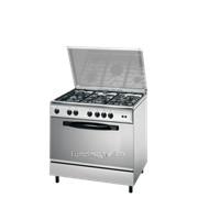 Плита кухонная Indesit KM L21S(X)/I фото