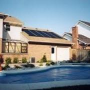 Системы солнечного подогрева бассейнов фото