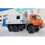Установка ППУА 1600/100 на шасси КамАЗ 43118 фото