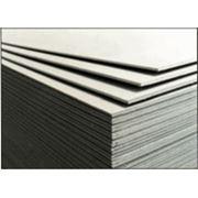 Гипсокартон стандартный 1200х2500х9,5 (РФ) фото