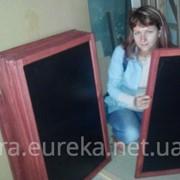 Производство меловым штендеров и досок меню для кафе, баров. Киев фото