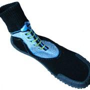 Носки с прорезиненной подошвой. фото
