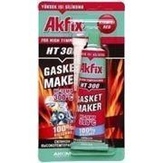 Силикон AKFIX RTV красный высокотемпературный 50 GR HT300(в ящике 24 шт. ) фото